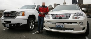 GMC Acadia Denali and GMC Sierra Denali HD